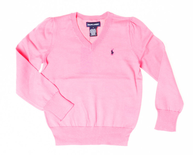 Ralph Lauren Boys Summer V Neck Jumper