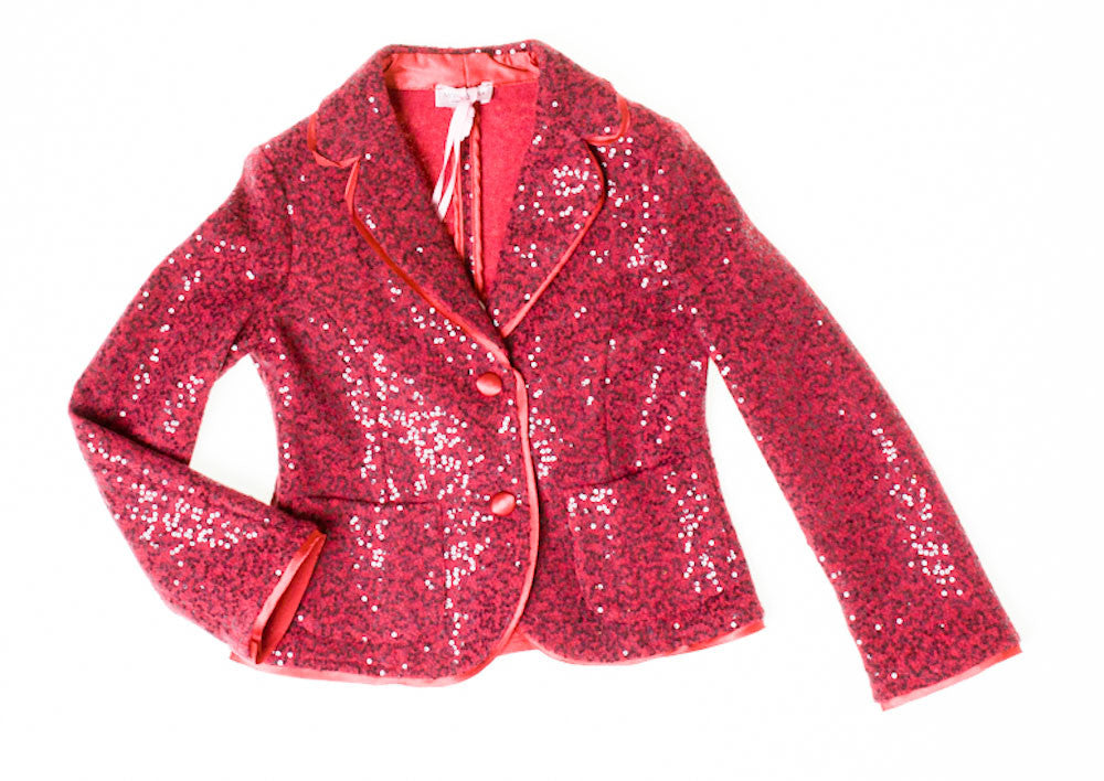 Monnalisa Sequinned Jacket