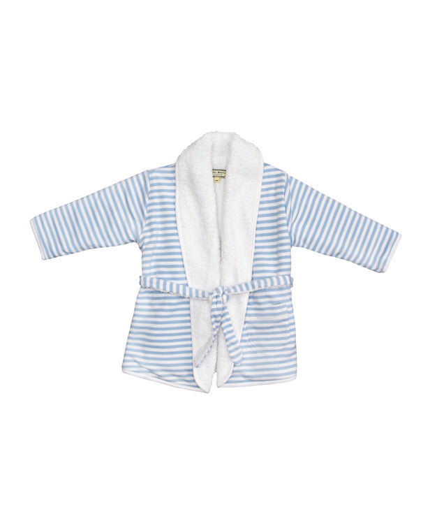 Darcy Brown Striped Dressing Gown - Children's Fashion Outlet