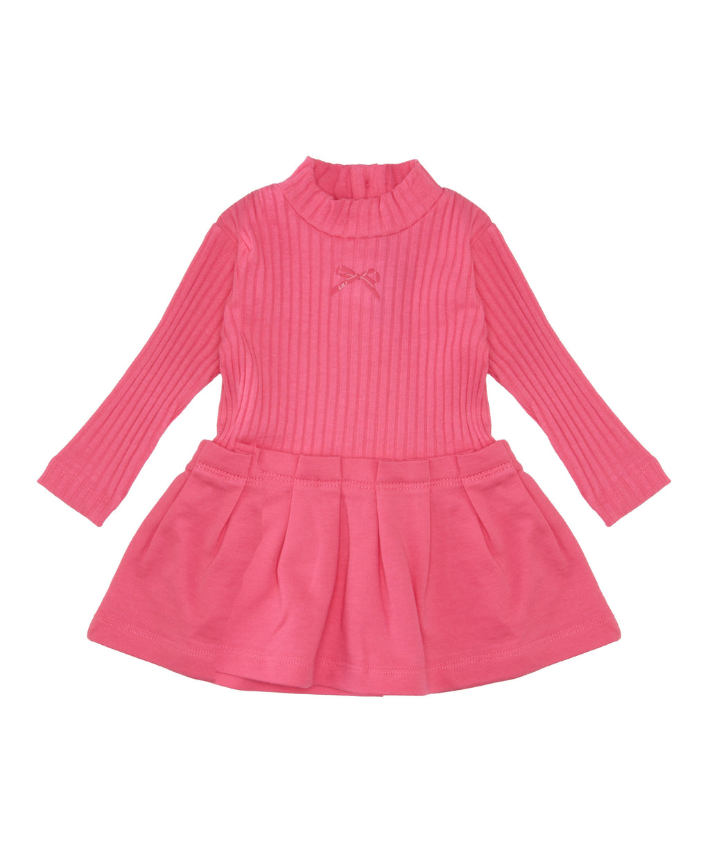 Lili Gaufrette Baby Turtleneck Dress