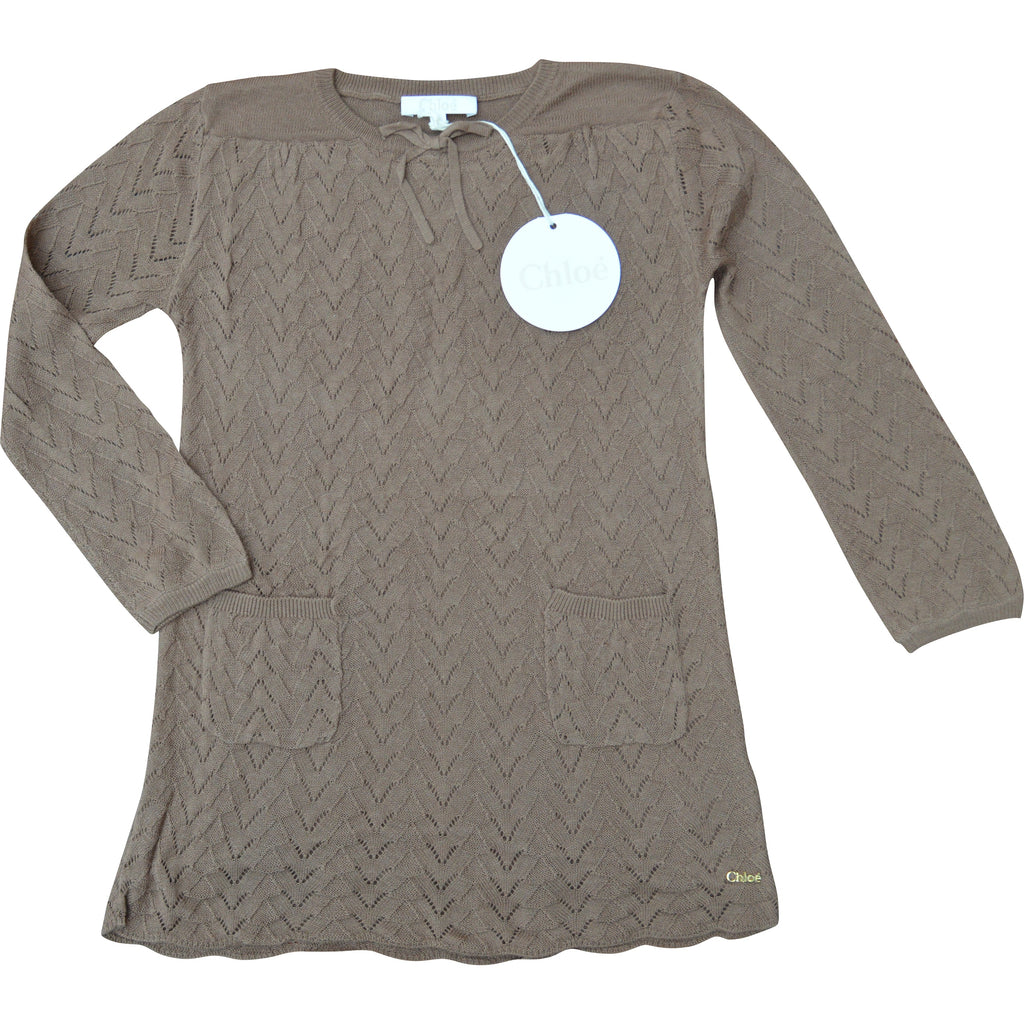 Chloe Knitted Jumper - Children's Fashion Outlet