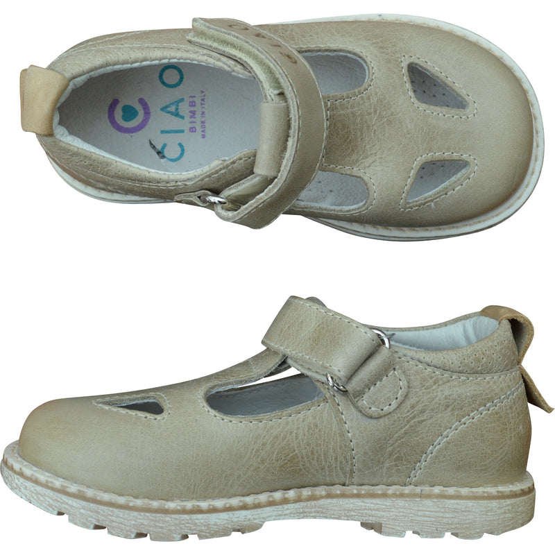 Ciao Beige Shoe - Children's Fashion Outlet