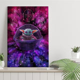 The Force Galaxy - Canvas Print