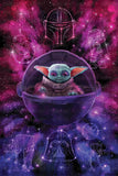 The Force Galaxy Art Print