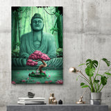 Lotus Buddha - Canvas Print