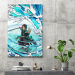 Water Breathing - Canvas Print