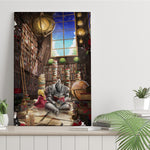 Library of Alchemist - Canvas Print