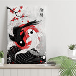 Japan Koi Fish - Canvas Print