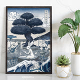 Japan Blue - Choju-giga Print