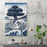 Japan Blue - Choju-giga - Canvas Print