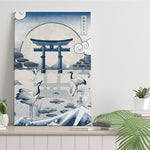 Japan Blue - Itsukushima - Canvas Print