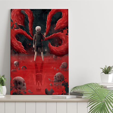 Ghoul - Canvas Print