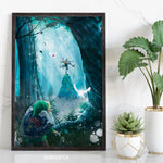 Forest Legend Art Print