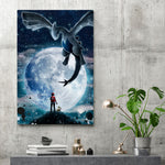 Legend Of The Moon - Canvas Print
