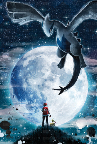 Legend Of The Moon Art Print