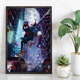Night City Spiders Print