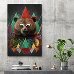 Spring Collection Bear - Canvas Print