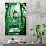 Spirit Of The Forest - Canvas Print