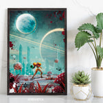 Exploring Another Planet Art Print