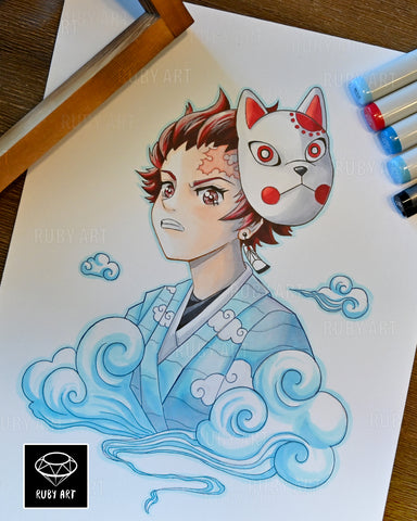 Tanjiro - Original Copic