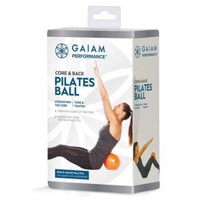Gaiam Performance Pilates Core & Back Strength Ball