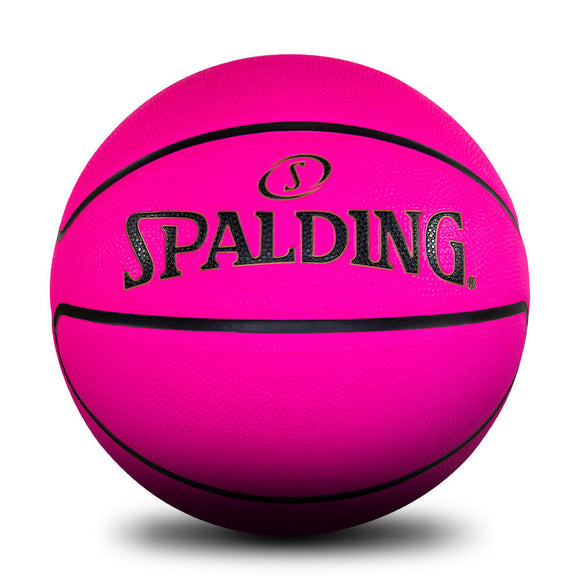 Spalding Pink Outdoor Basketball Size 6