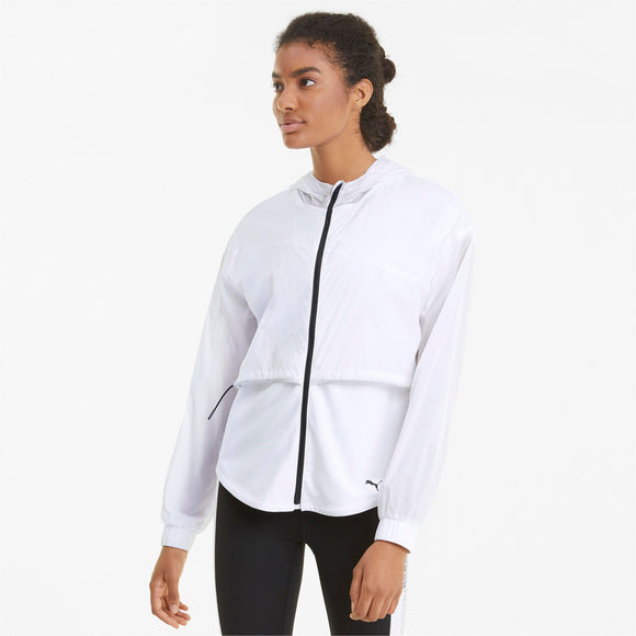 Puma Ultra Women's Hooded Training Jacket - Puma White