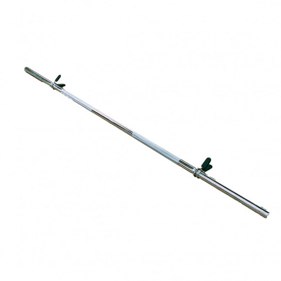 1800mm Chrome Bar with Collars - to fit 29mm Hole Weights