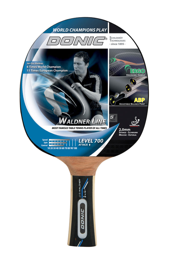 Donic Schildkrot Waldner Level 700 Table Tennis Bat