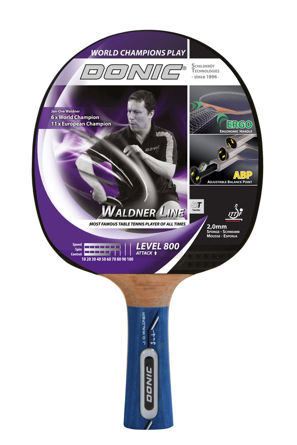 Donic Schildkrot Waldner Level 800 Table Tennis Bat