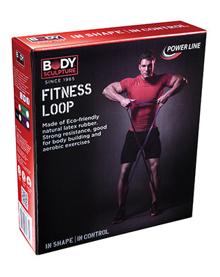 Body Sculpture Fitness Resistance Hoops - Click to select resistance