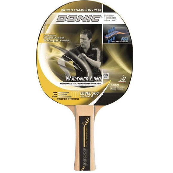 Donic Schildkrot Waldner Level 500 Table Tennis Bat