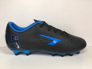 Kids Sfida Velocity Boots Black/Royal Blue
