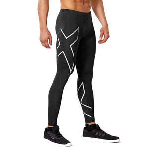 2XU Comp Tights Black/SIiver