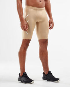 2XU Compression Shorts Beige