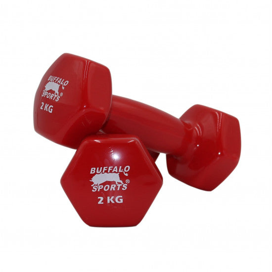 Vinyl Coated Dumbbells (each)  - Click to Select Weight