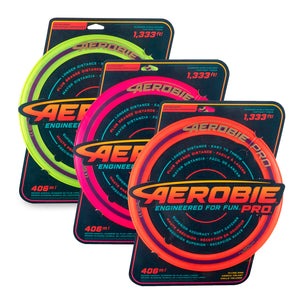 "Aerobie Pro 13"" Flying Disc - Click to Select Colour"