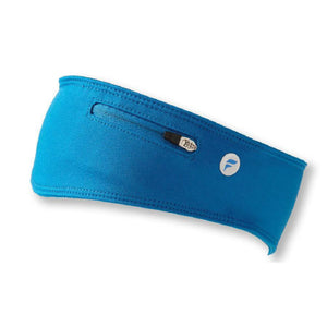 FlyActive Running Headband with Pocket - Blue
