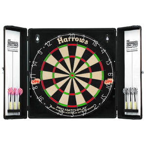 Harrows Black Shadow Complete Dart Set