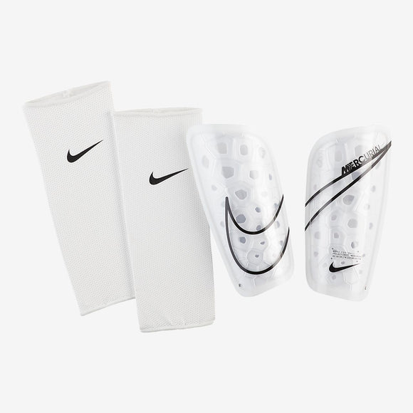 Nike Mercurial Lite Shinguards - White/Black