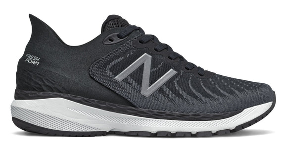 New Balance Fresh Foam 860v11 Black/White/Lead (Ladies)