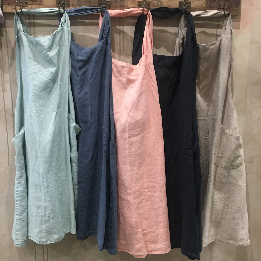 French Linen Aprons