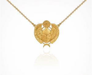 TEMPLE OF THE SUN - Scarab Necklace