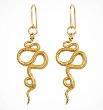 Load image into Gallery viewer, TEMPLE OF THE SUN - Snake Earrings