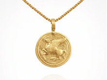 Load image into Gallery viewer, TEMPLE OF THE SUN - Pegasus Necklace