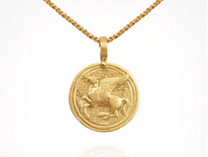 TEMPLE OF THE SUN - Pegasus Necklace