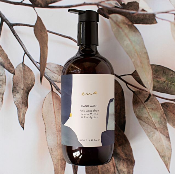 HAND WASH- Pink Grapefruit, Lemon Myrtle & Eucalyptus 500ml