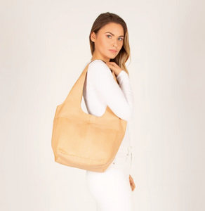 Sorell Small Soft Leather Tote