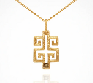 TEMPLE OF THE SUN- Delphi Necklace