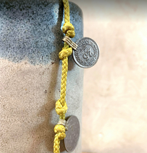 Load image into Gallery viewer, Coin rope Necklace